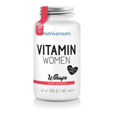 Nutriversum - Vitamin Women - Női multivitamin - 60db