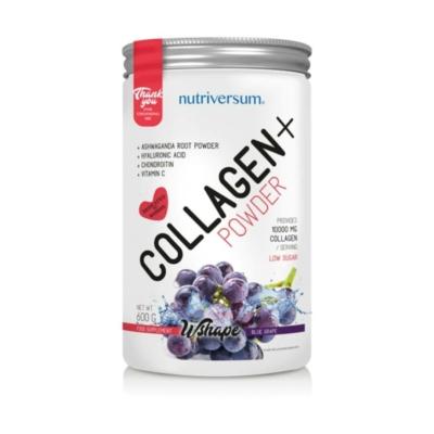 Nutriversum Collagen+ Kollagén komplex - Kékszőlő - 600 g