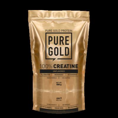 Pure Gold Protein - 100% Creatine kreatin-monohidrát - 500g
