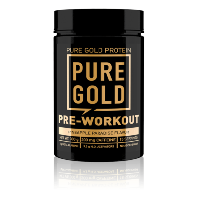 Pure Gold Protein - Pre-workout - PWO - edzés előtti energizáló - 300g