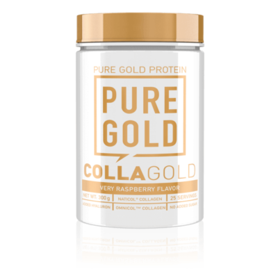 Pure Gold Protein - CollaGold - Málna - 300g