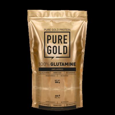 Pure Gold Protein 100% Glutamine, ízesítetlen aminosav italpor