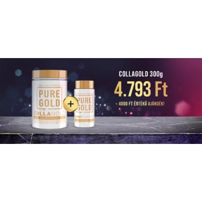Pure Gold - Collagold 300g + Ajándék termék