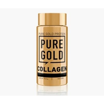 Pure Gold Protein Marine Collagen Caps - hidrolizált halkollagén kapszula