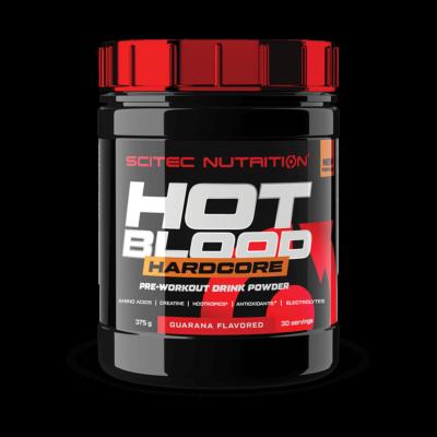 Scitec Hot Blood Hardcore - edzés előtti energizáló - 375 g