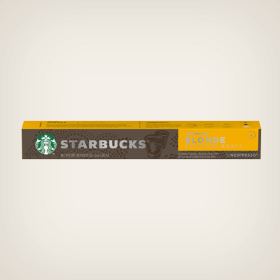 Starbucks - Blonde Espresso - nespresso kompatibilis kávékapszula - 10db-os