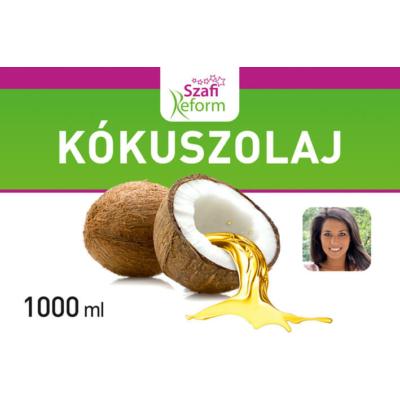 Szafi - Kókuszolaj - Kókuszzsír - 1000ml