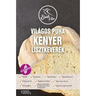 Szafi - Világos puha kenyér lisztkeverék - 1000g