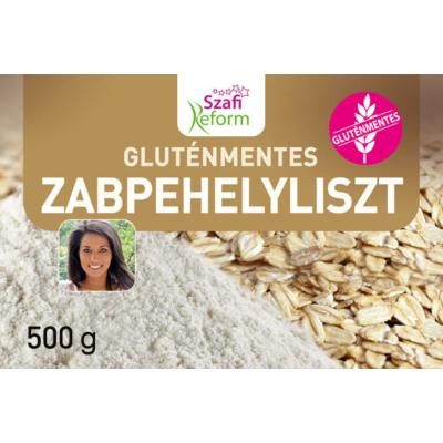 Szafi - Gluténmentes zabpehelyliszt - 500g