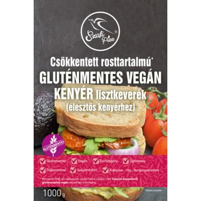 Szafi - Csökkentett rosttartalmú gluténmentes vegán kenyér liszt - 1Kg