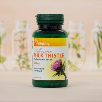 Vitaking milk thistle - máriatövis kapszula