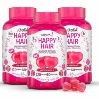 Vitaful - Happy Hair hajvitamin gumicukor