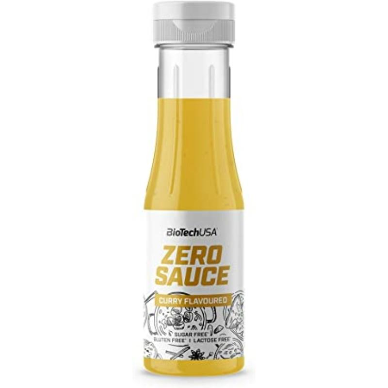 BioTechUSA - Zero Sauce - Curry - 350 ml