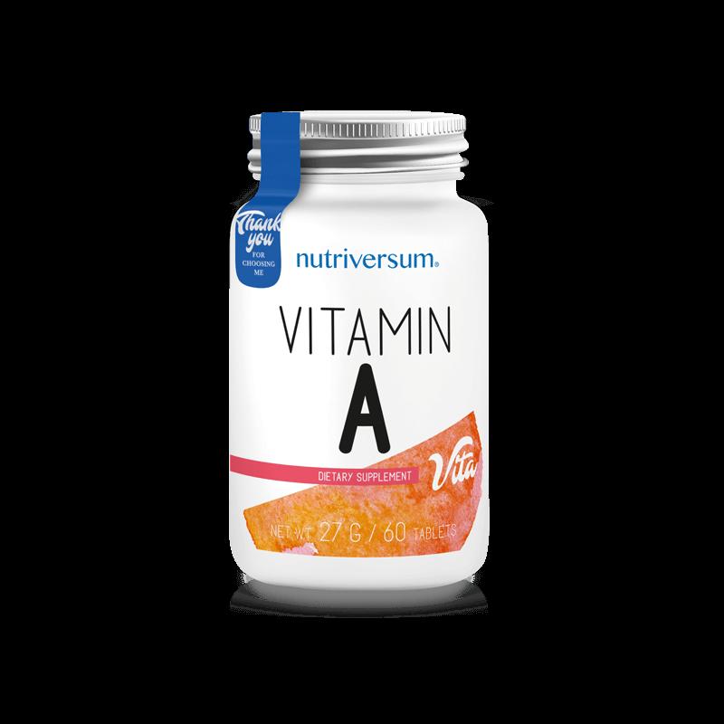 Nutriversum A-vitamin 60 tabletta
