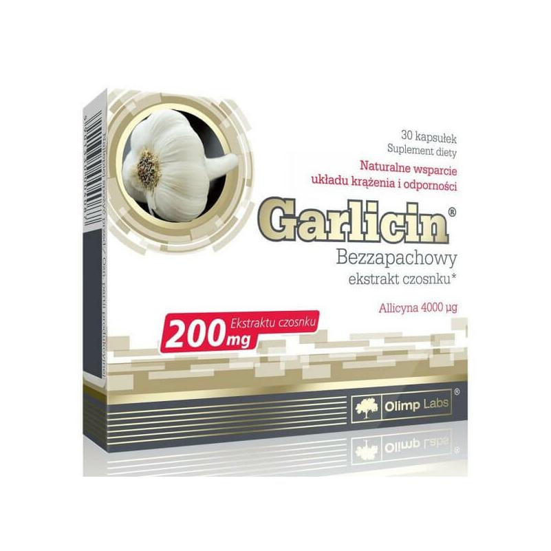 Olimp Labs- Garlicin - Fokhagyma kivonat - kapszula