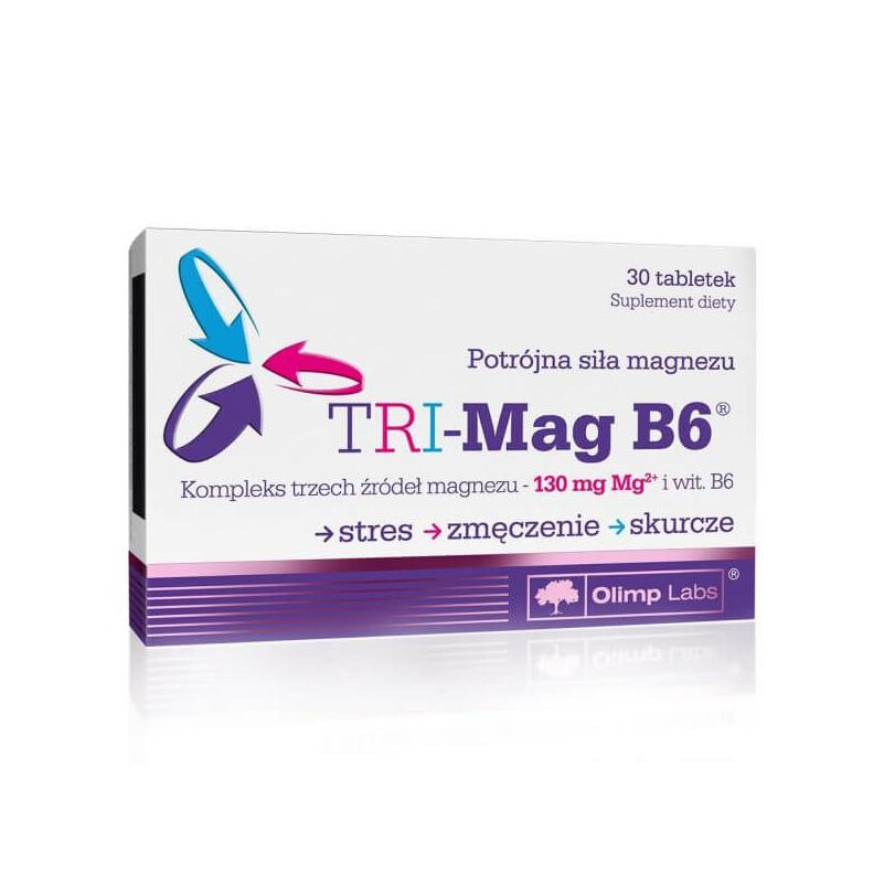 Olimp Labs - Tri Mag B6 vitamin - magnézium
