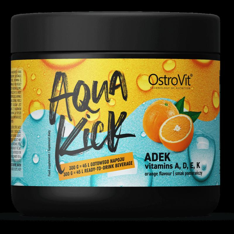 OstroVit Aqua Kick A-D-E-K  zsírban oldódó vitamin por - 300g