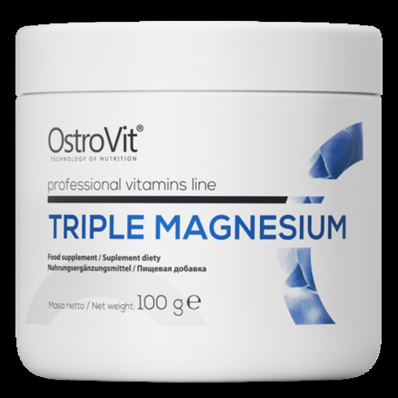 Ostrovit tripla magnézium, Citrát, laktát és magnézium-karbonát