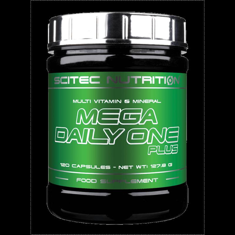 Scitec Nutrition Mega Daily One Plus - Multivitamin - 120 kapszula