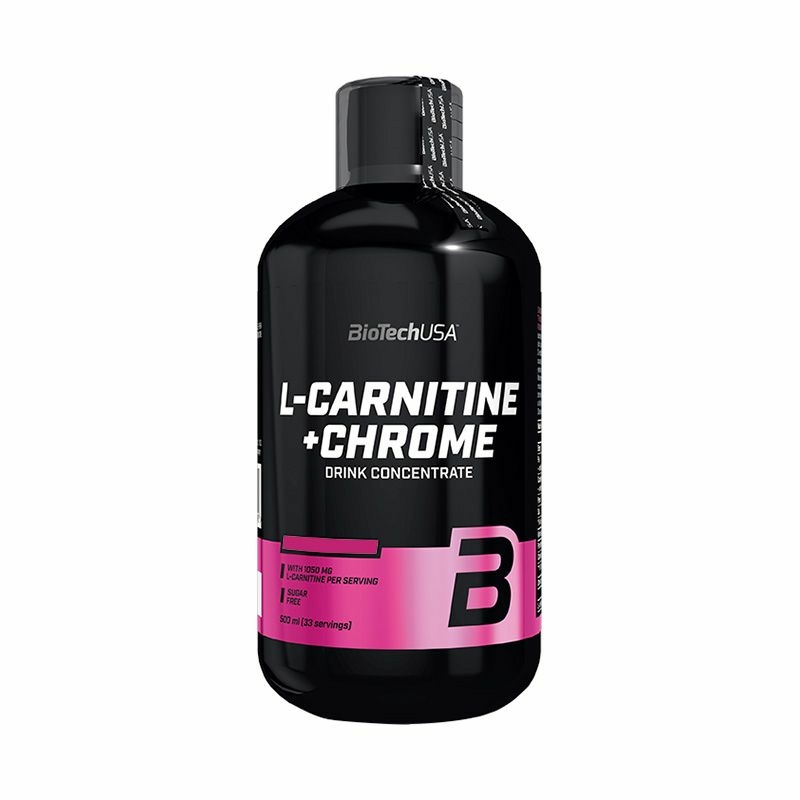 BiotechUSA - L - Carnitine + Chrome 500 ml