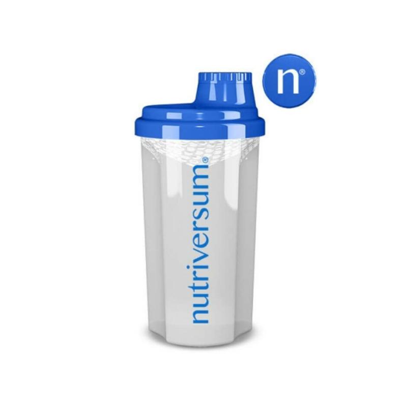 Nutriversum Shaker átlátszó, 700ml-es