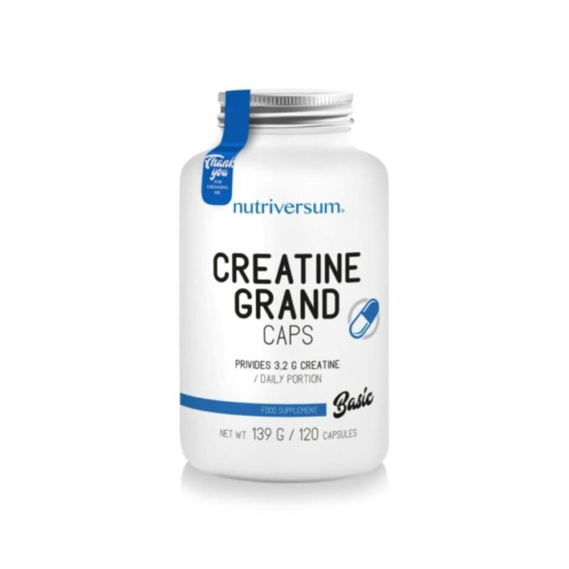 Nutriversum creatine caps - kreatin kapszula