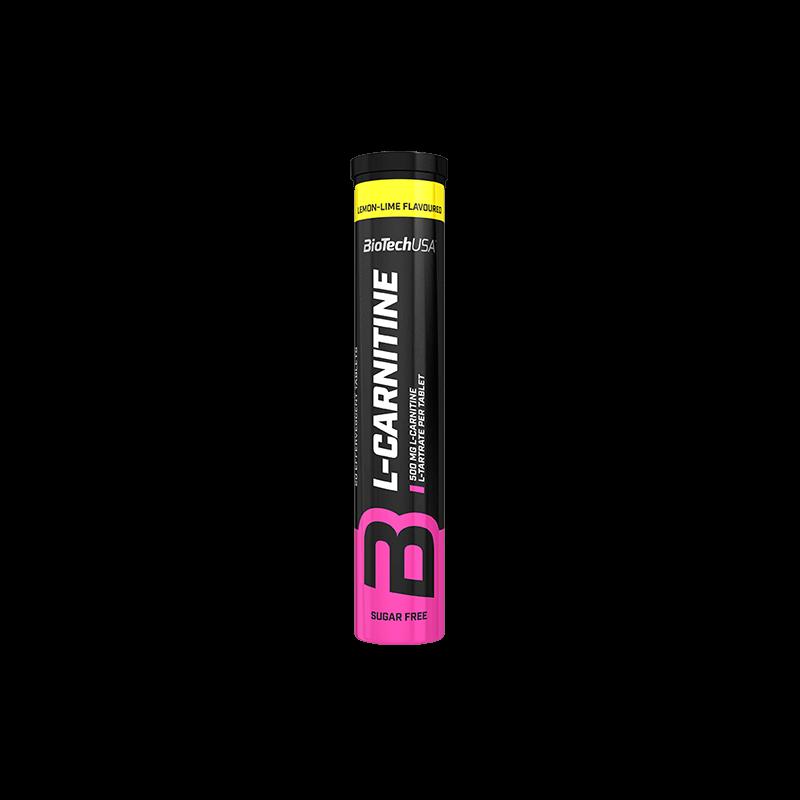 BiotechUSA - L - Carnitine Pezsgőtabletta 20 tabletta