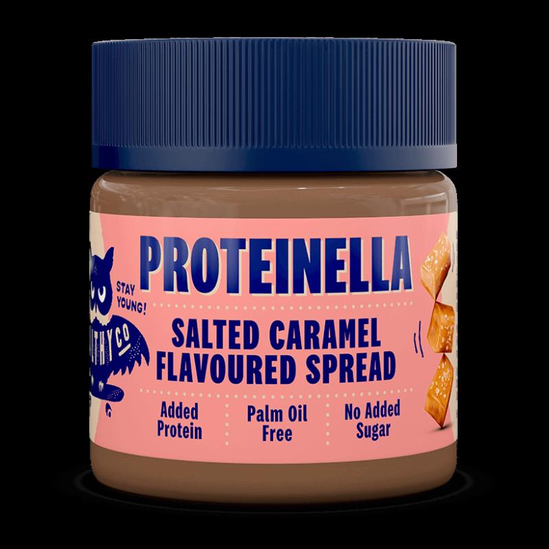 Proteinella sós karamellás mogyorókrém, fehérjével dúsítva