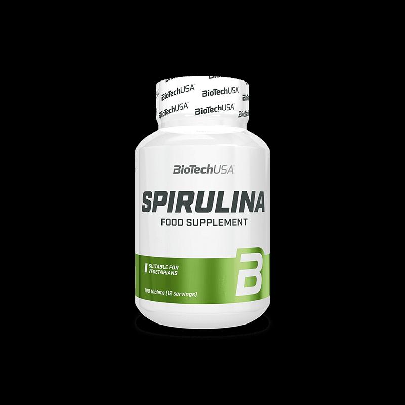 BiotechUSa Spirulina tabletta