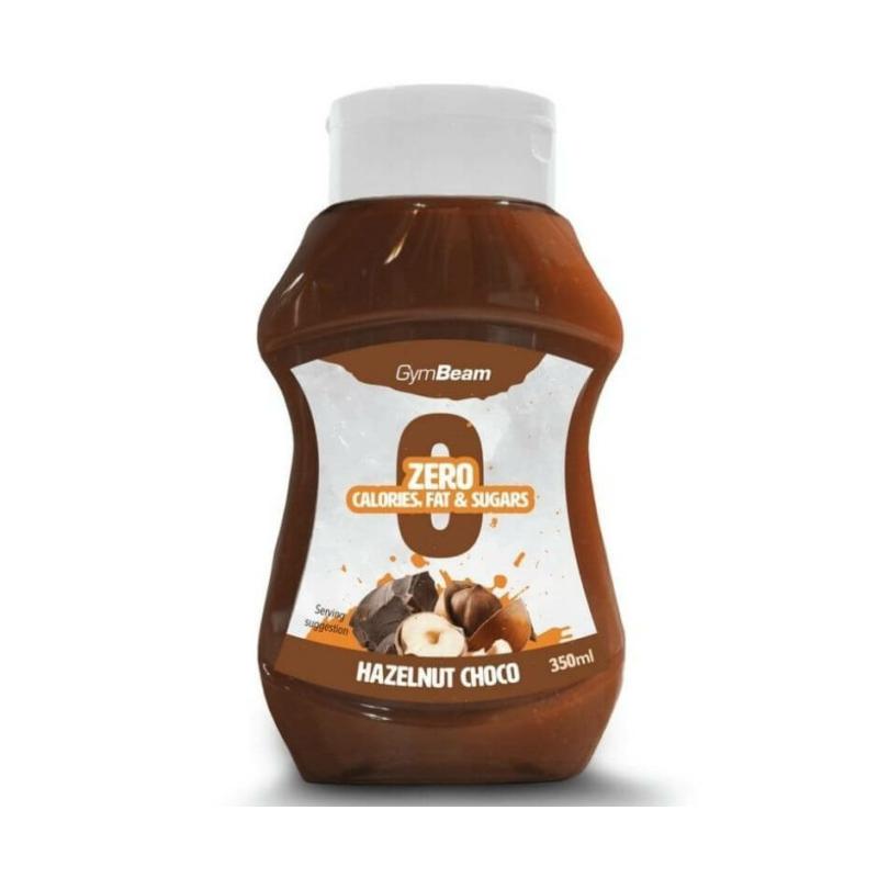 GymBeam - Hazelnut choco zero syrup, mogyorós zero szirup