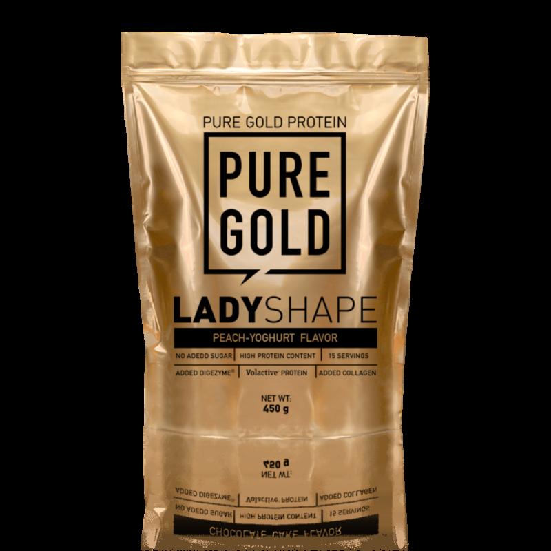 Pure Gold Protein - Lady Shape étkezés-helyettesítő shake