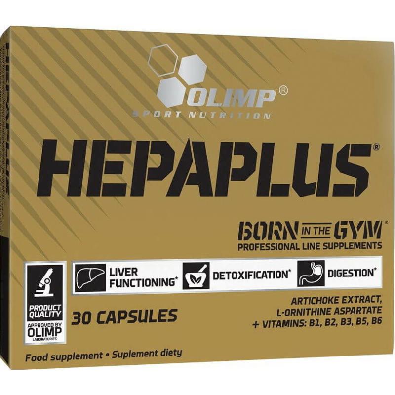 Olimp Labs - Hepaplus - Májvédő készítmény