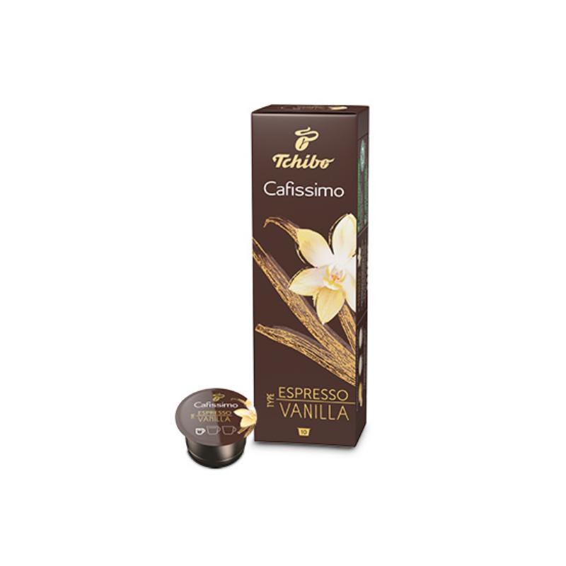 Tchibo Cafissimo Vanilla kávékapszula, vaníliás