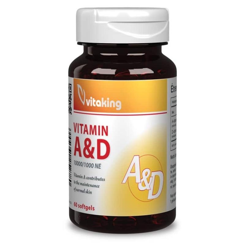 Vitaking - A&D Vitamin - 60db