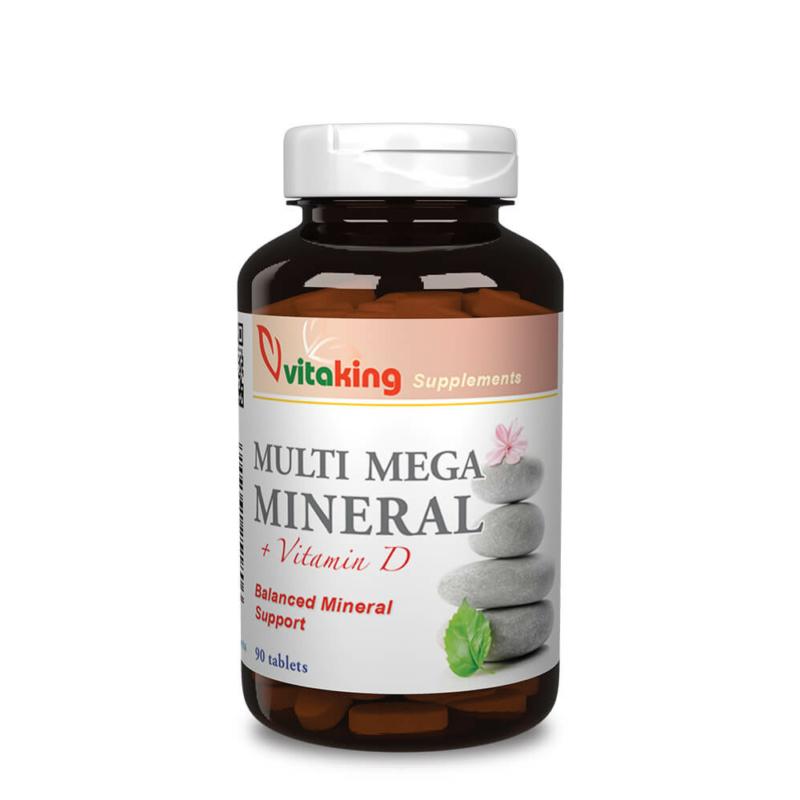 Vitakin Multi Mega Mineral - ásványi-anyag komplex, d-vitaminnal kiegészítve