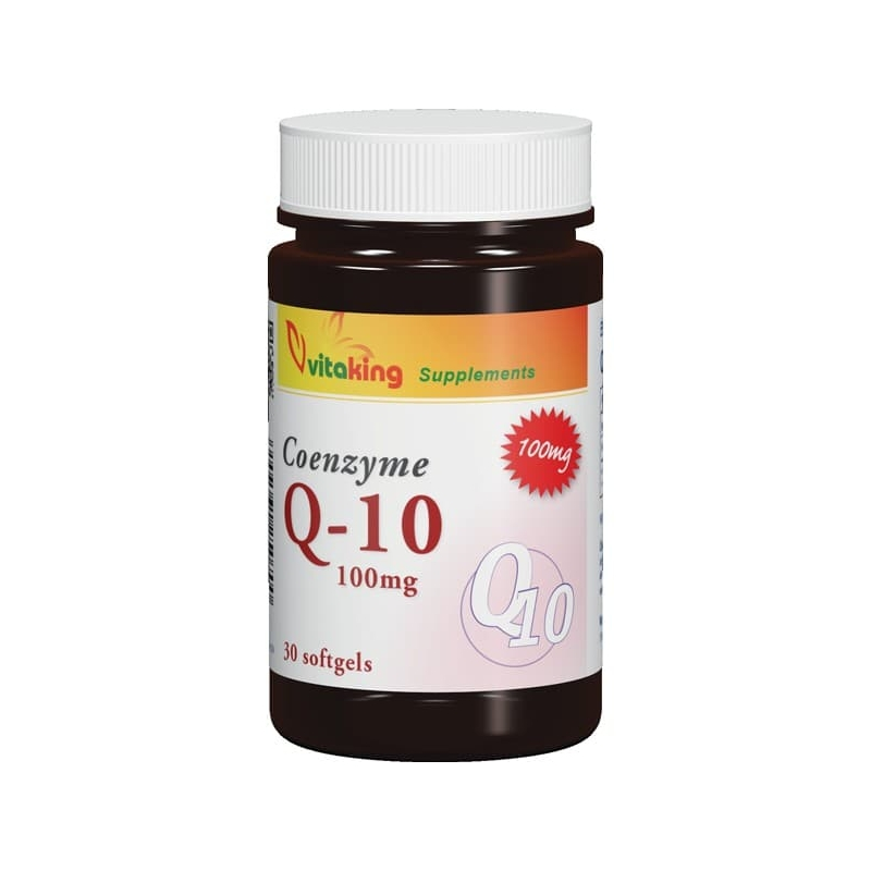 VitaKing-Q10-koenzim-100mg-30db-kapszula
