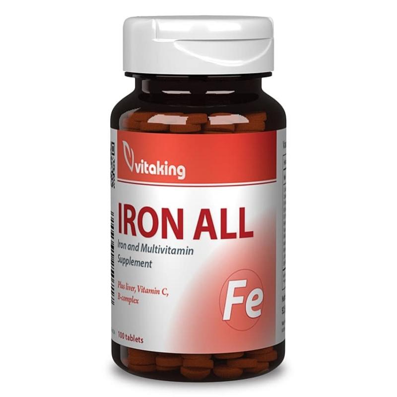 Vitaking - Vas komplex - Iron All