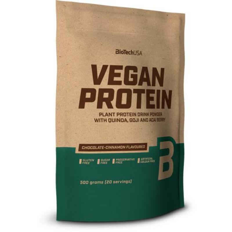 BiotechUSA - Vegan Protein - vegán fehérje - 500g