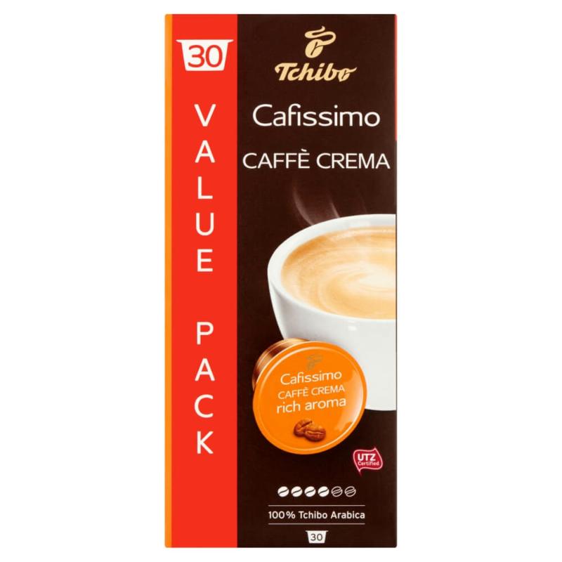 Tchibo Cafissimo Caffe Crema Rich Aroma kávékapszula