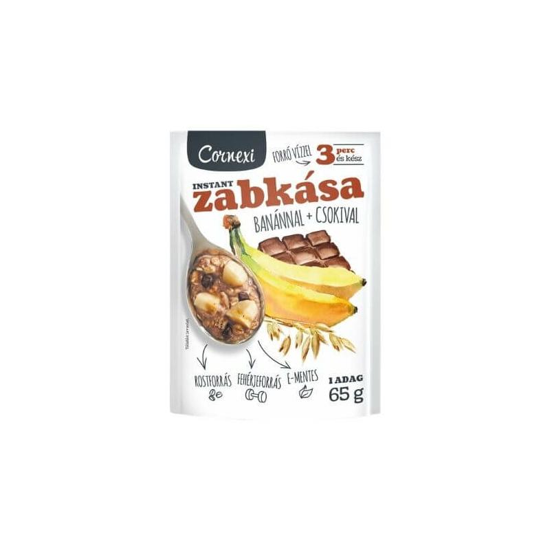 Corenxi csokis-banános zabkása