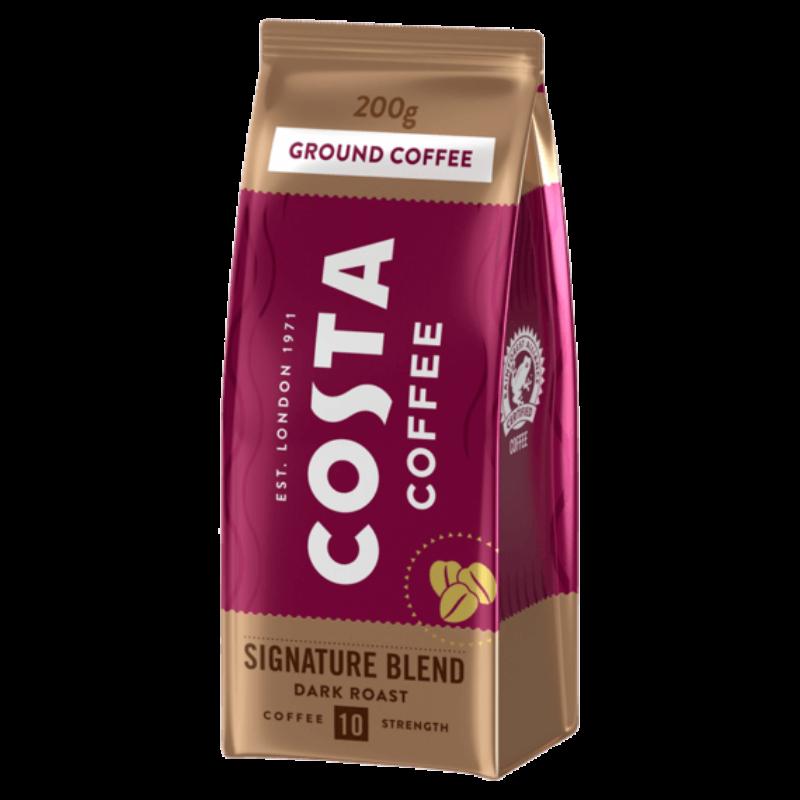 Costa Coffe Signature Dark Roast - Őrölt kávé - 200g