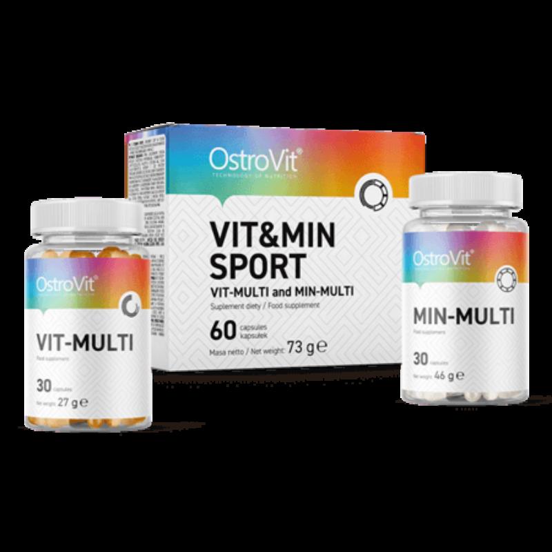 OstroVit - Vit&Min Sport - Sport multivitamin - 60 kapszula