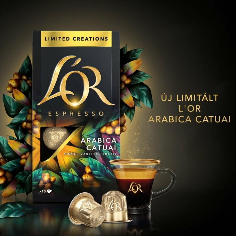 L'OR Espresso Arabica Catuai 10db nespresso kompatibilis kávékapszula