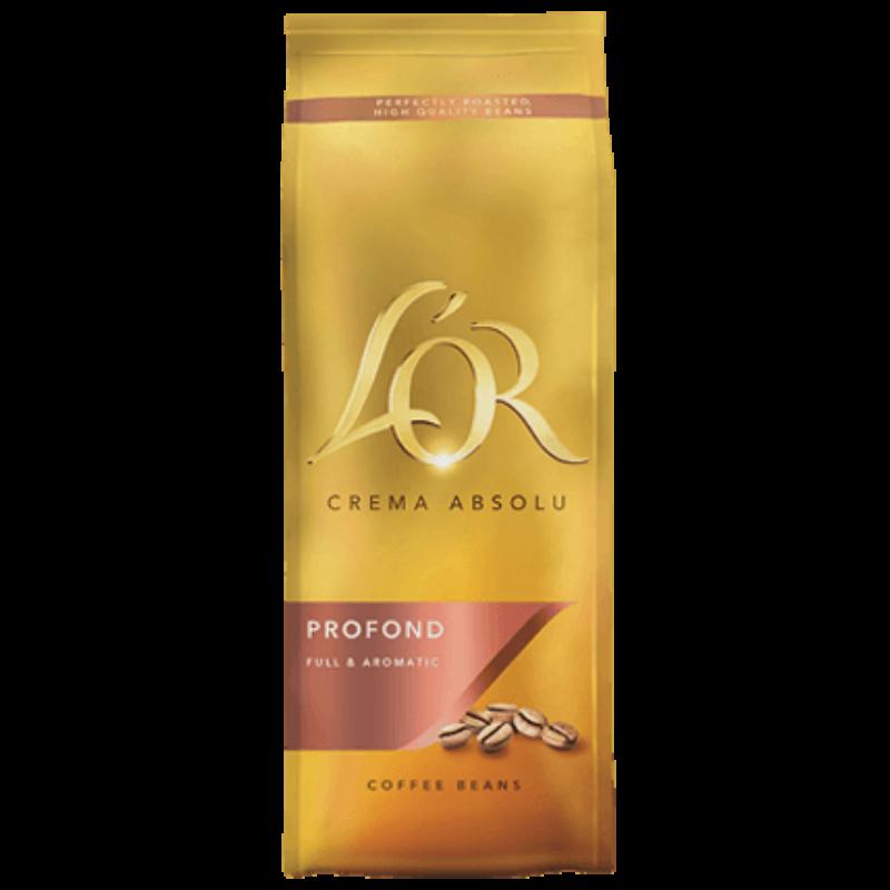 L'or Crema Absolu Profond - szemes kávé - 500g