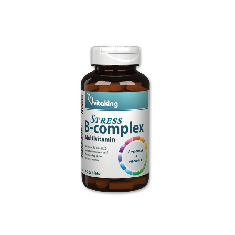 Vitaking - B-complex - B-vitamin, stressz komplex