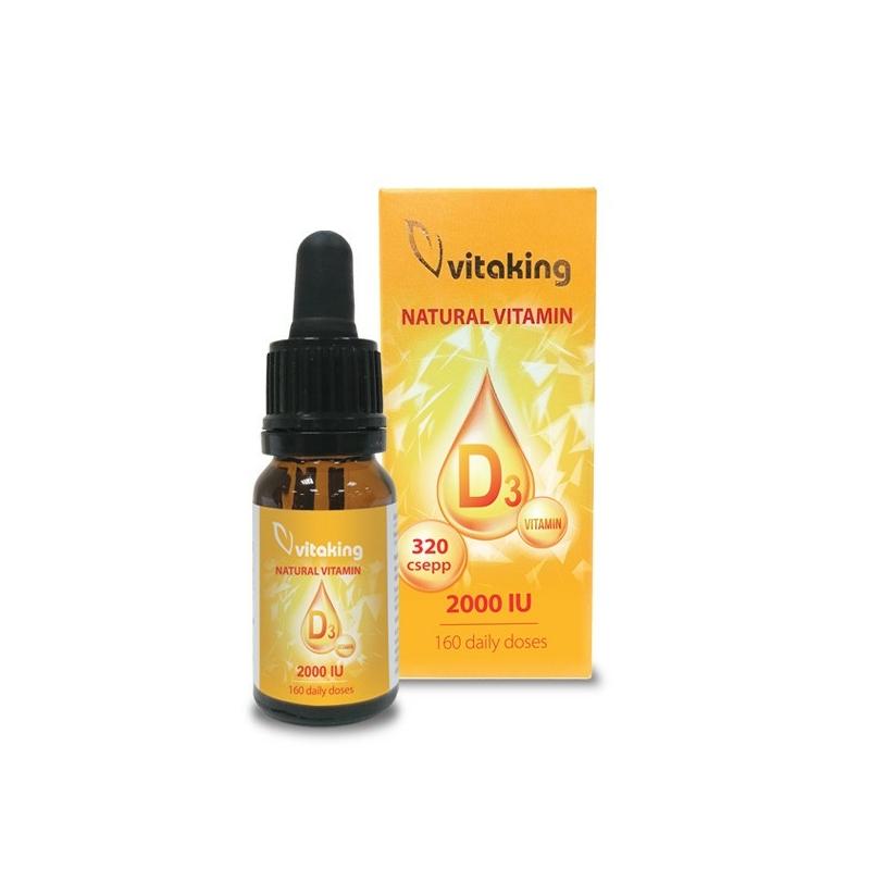 Vitaking D3 csepp - D-vitamin