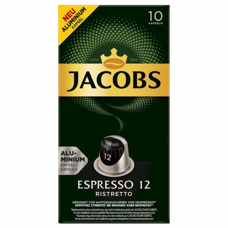 Jacobs Espresso Ristretto 12 -10db nespresso kompatibilis kávékapszula