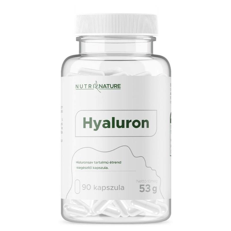 Nutri Nature - Hyaluron caps - hialuronsav kapszula