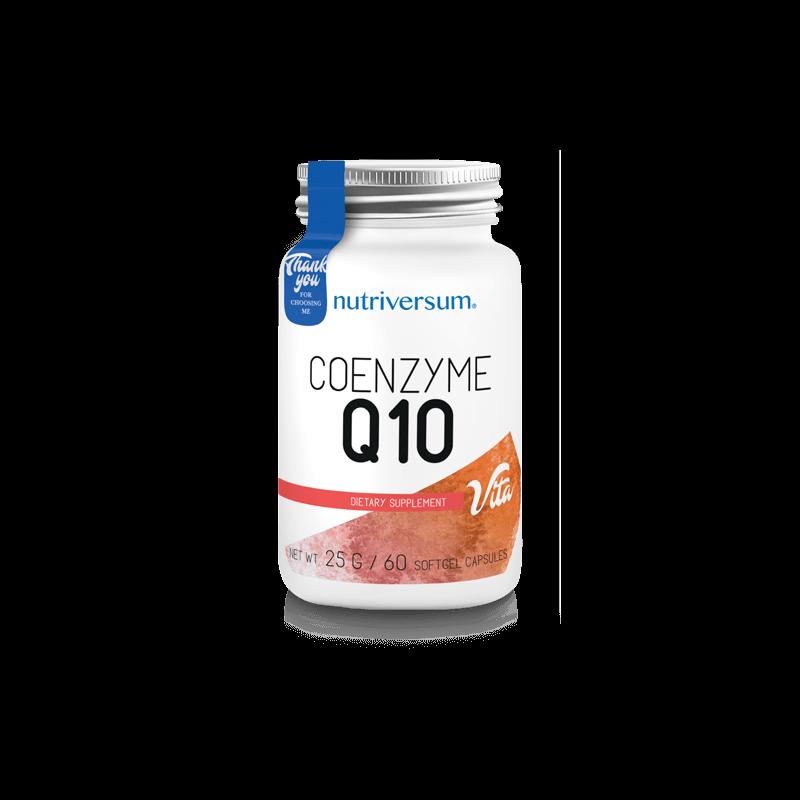 Nutriversum Q10 antioxidáns, 60 kapszula