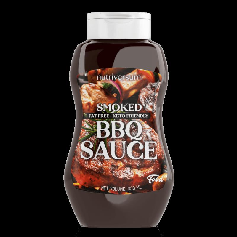 Nutrtiversum Sauce - füstölt BBQ zero szósz - 350ml